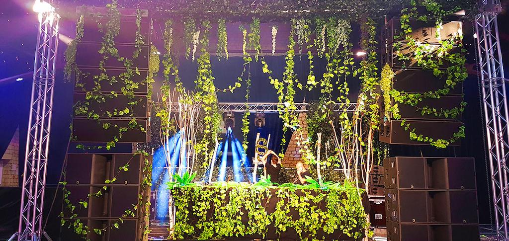 decoration evenementielle plantes